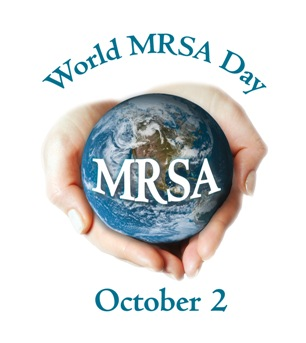 World MRSA Day logo