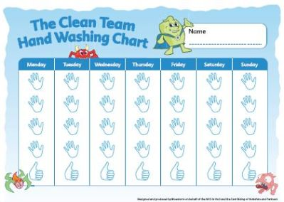 image relating to Free Printable Hand Washing Posters named MRSA Move United kingdom Small children handwashing